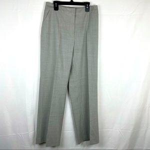 St. John Sport beige gray lightweight pants size 6